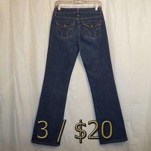 3/$20 DKNY Soho Bootcut Jeans 4R 4 (X 32) Blue